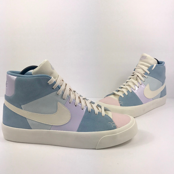 Hazme cartucho Aspirar  Nike Shoes | New Mens Nike Blazer Royal Easter Mid Sneakers | Poshmark
